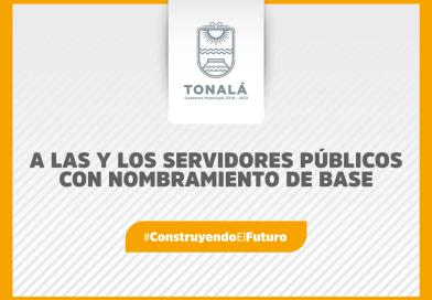 A las y los servidores públicos con nombramiento de base: Consulta la convocatoria para el cambio de adscripción
