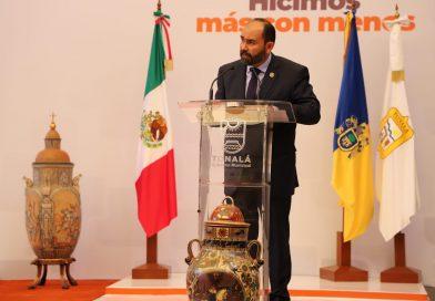 Juan Antonio González destaca el orden administrativo de su gobierno que le permitió hacer más con menos